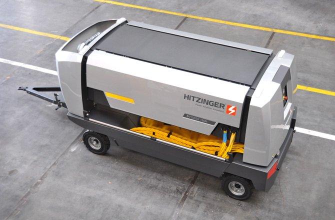 Diesel-driven ground power supply