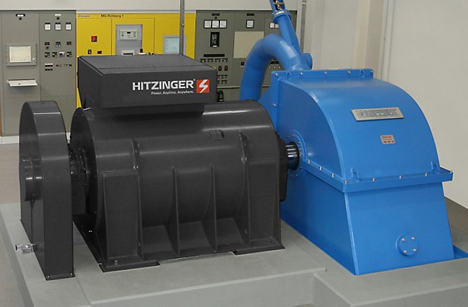 Hydropower - HYDRO POWER ALTERNATORS AND GENERATORS H HORIZONTAL SYSTEMS